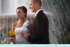 Wilmington, NC wedding at the Alton Lennon Federal Building