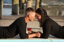 Surf City NC engagement photographers